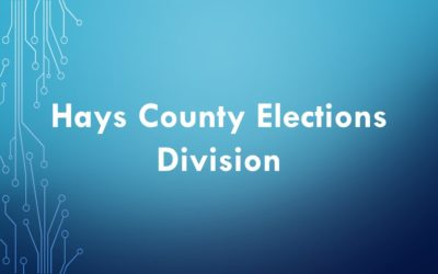 Wasp MobileAsset - Hays County Elections Division