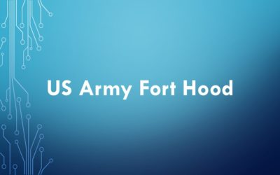 equipment tracking case study - US Army Fort Hood